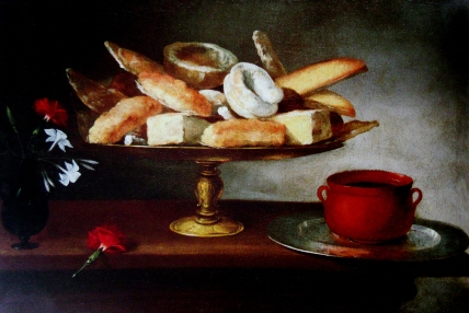Camprobin de Pedro. Still Life with Sweets. 1663. Oil on canvas.
